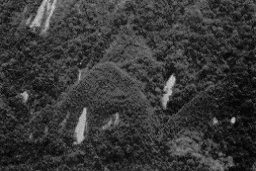 Ancient lost civilizations the photo shows eight symmetrical structures on the edge of the amazon jungle these pyramids are only slightly smaller in height than the great pyramid of sciox Image collections
