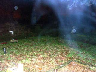 Photo of a nebulous form? with Orbs